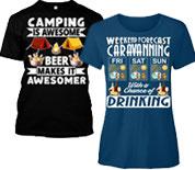 FRC Camping & Caravan T-Shirts