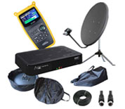 NAS Satellite Kits, Dishes & Receivers