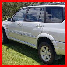 2003 Suzuki Grand Vitara XL-7 & A Frame Trailer