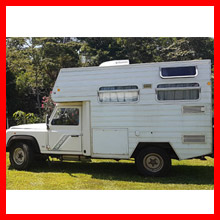 4x4 Campervan on 1996 Defender, Rowville, VIC