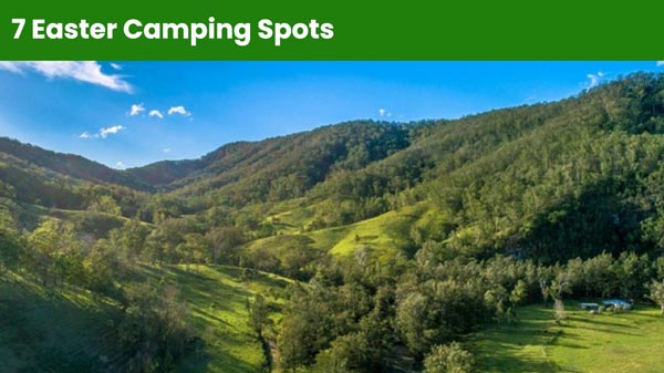 7 Easter Camping Spots