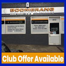 Boomerang Auto Electrical, Box Hill, VIC