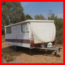 Cabana Caravan Classic 14' Model, Brookfield, VIC