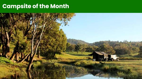 Campsite of the Month - Old Barra