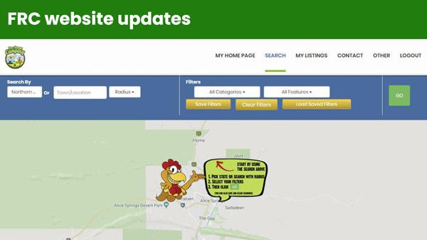 FRC Web Directory Updates