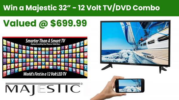 "Majestic 32"" TV Giveaway"