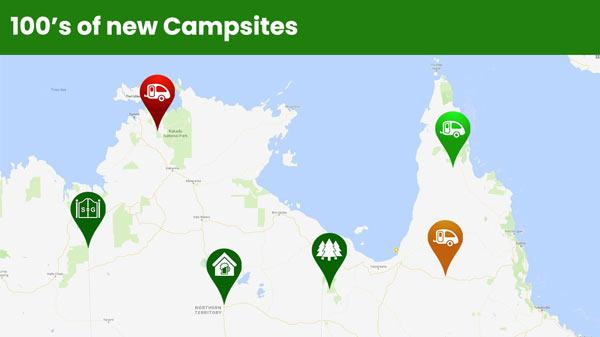 New Campsites