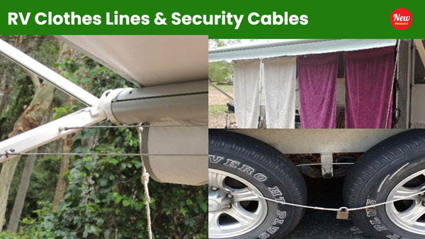 RV Clothes Lines & Security Cables