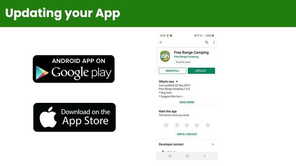 Updating your App