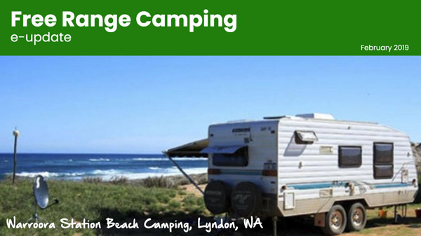 Warroora Station Beach Camping, Lyndon WA