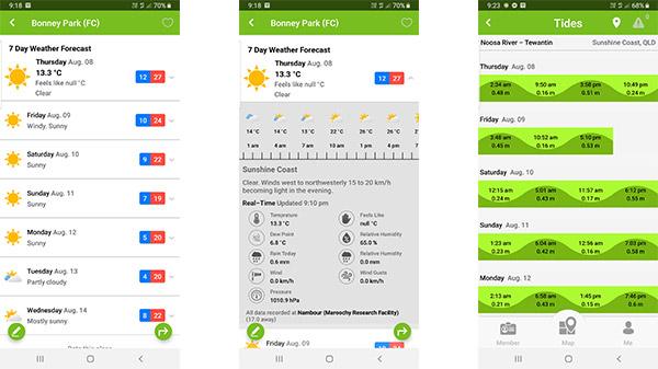 FRC Weather App